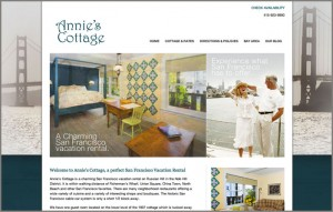 Annie's Cottage new Website